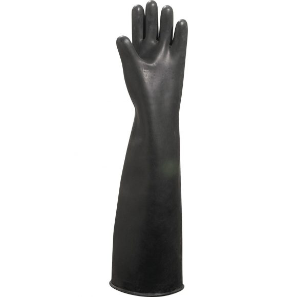 LA600 P 580x580 - Rękawice kwasoodporne lateksowe LA600
