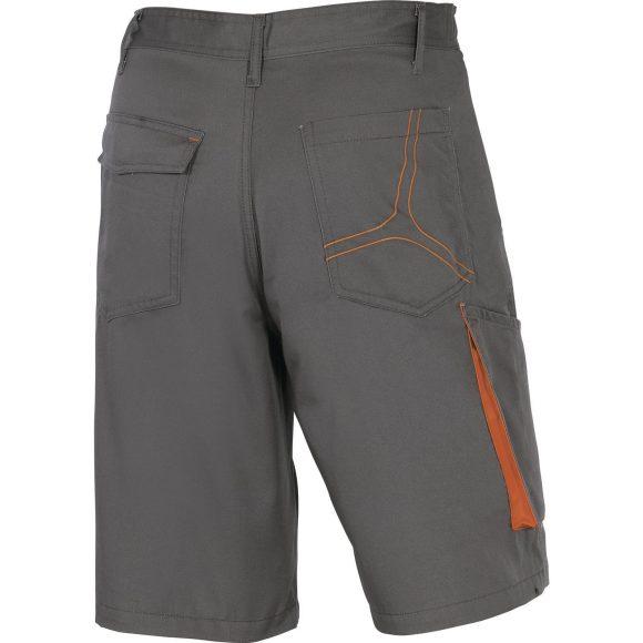 M2BE2 GR back 580x580 - Spodnie robocze bermudy M2BE2