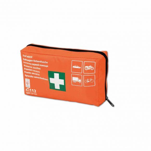 DIN Material 4 1 1 580x580 - Apteczka pierwszej pomocy samochodowa z wyposażeniem TYP DIN materiał