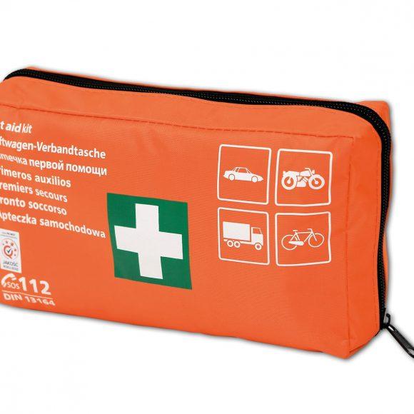 DIN Material 4 580x580 - Apteczka pierwszej pomocy samochodowa z wyposażeniem TYP DIN materiał