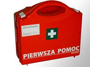 P 10 e1572905165339 - Przenośna apteczka zakładowa typ P-10 z wyposażeniem DIN 13164 i wieszakiem