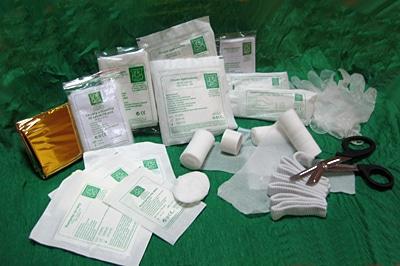 Wyposażenie DIN 13157 - Wyposażenie do apteczek pierwszej pomocy DIN 13157 + ustnik