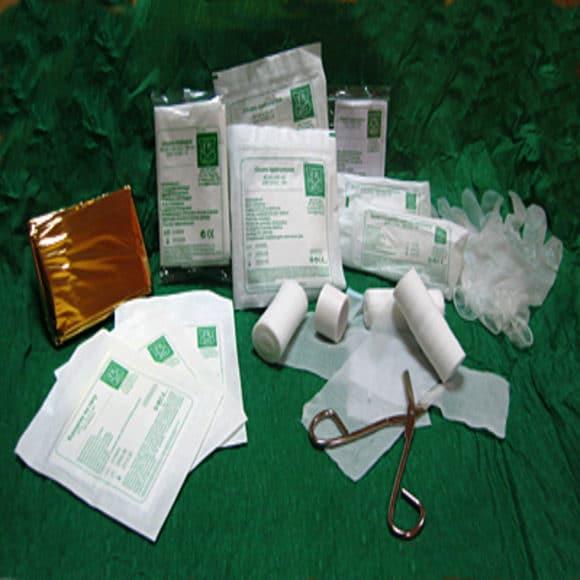 wYPOSAŻENIE DIN 13164 1 1 580x580 - Wyposażenie do apteczek pierwszej pomocy DIN 13164 + ustnik