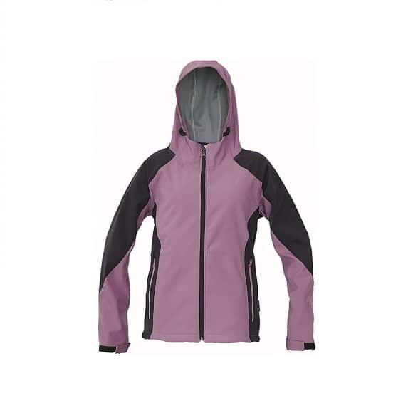 03010324 YOWIE softshell jacket 19773 lila www 1 580x580 - Kurtka softshell damska z kapturem YOWIE CERVA - Wodoodporna i oddychająca