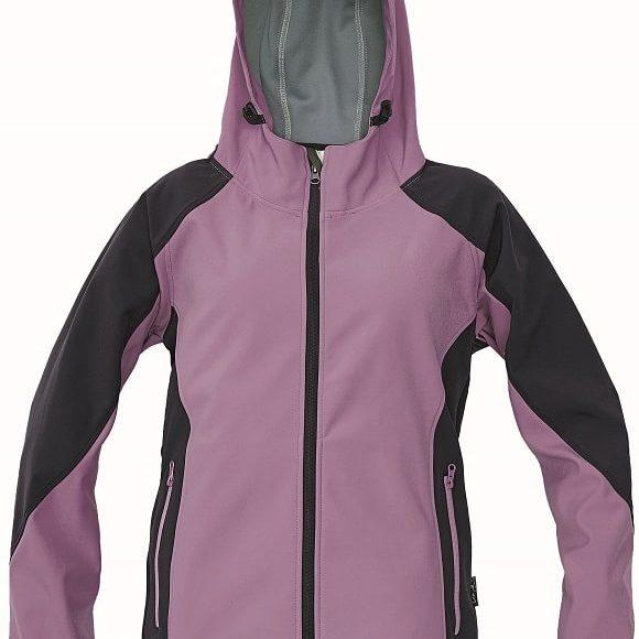 03010324 YOWIE softshell jacket 19773 lila www 580x580 - Kurtka softshell damska z kapturem YOWIE CERVA - Wodoodporna i oddychająca