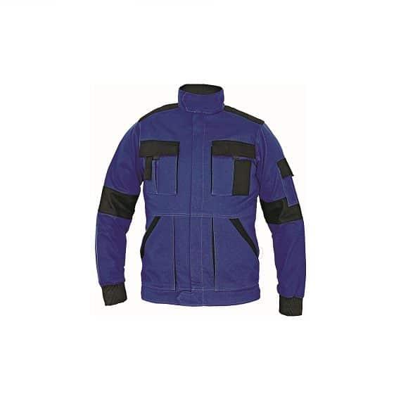 03010380 MAX lady jacket blue CERVA 2016 02 31894 www 580x580 - Bluza robocza damska MAX LADY CERVA