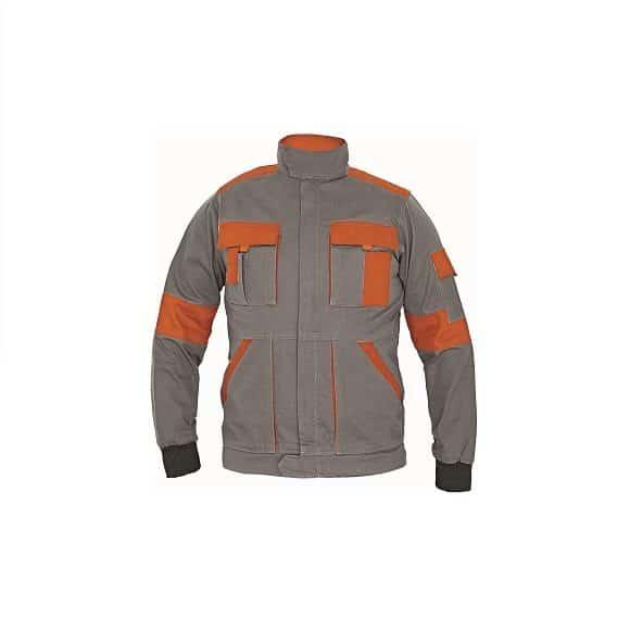 03010380 MAX lady jacket gray CERVA 2016 02 31894 www 580x580 - Bluza robocza damska MAX LADY CERVA