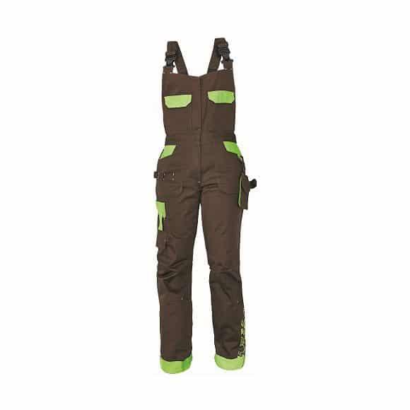03020208 YOWIE bibpants 19794 www 580x580 - Spodnie robocze damskie ogrodniczki bawełniane stretch YOWIE CERVA