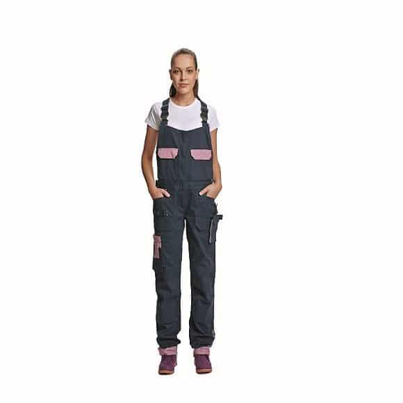 03020208 YOWIE bibpants CERVA UNOR DEN3 8114 DESIGNUJ www 580x580 - Spodnie robocze damskie ogrodniczki bawełniane stretch YOWIE CERVA