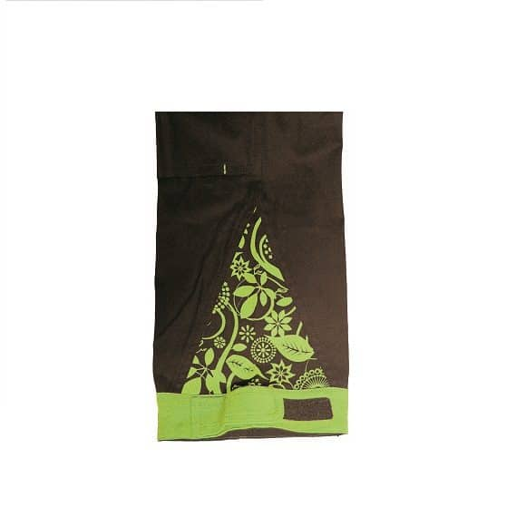 03020209 YOWIE PANTS IMG 9188 detail brown www 580x580 - Spodnie robocze damskie do pasa bawełniane stretch YOWIE CERVA