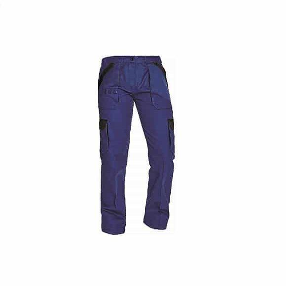 03020242 MAX LADY pants BLUE BLACK www 580x580 - Spodnie robocze do pasa damskie MAX LADY CERVA