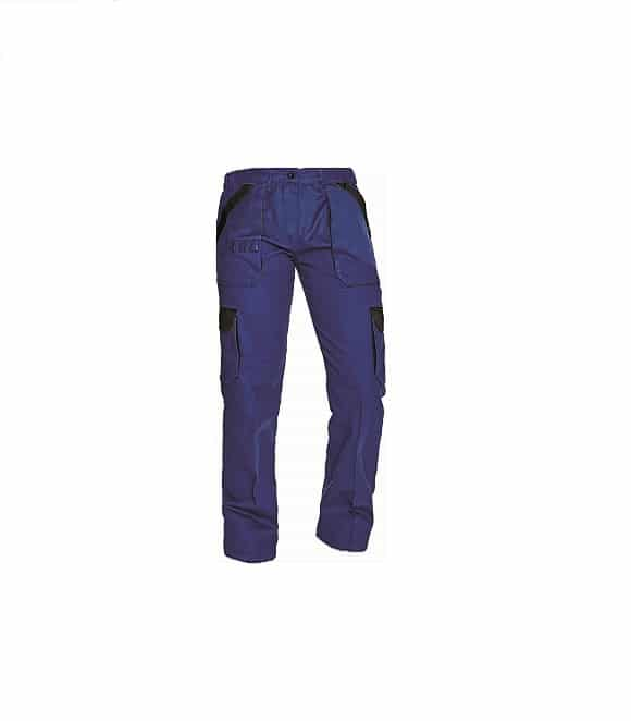 03020242 MAX LADY pants BLUE BLACK www - Spodnie robocze do pasa damskie MAX LADY CERVA
