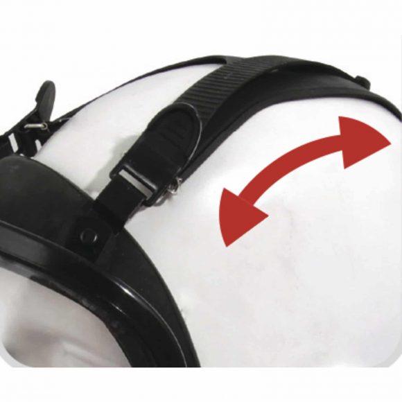 M9300 STRAP GALAXY straps 580x580 - Maska przeciwgazowa pełnotwarzowa M9300 - STRAP GALAXY