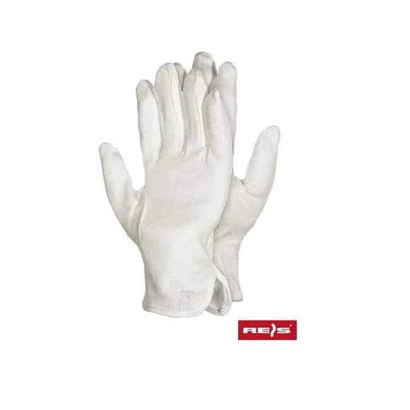 RMICRON BAŁE www 580x580 - Rękawice bawełniane białe z nakropieniem RMICRON