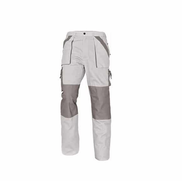 03020144 MAX pants white 0915 mb retus www - Spodnie robocze do pasa 100% bawełna MAX CERVA kolory
