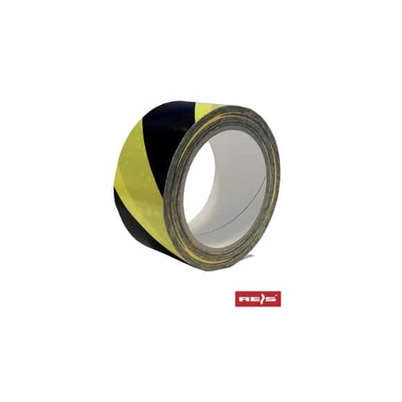 TASO SP33 YB www 580x580 - Taśma ostrzegawcza samoprzylepna żółto-czarna 33m TASO-SP33 YB