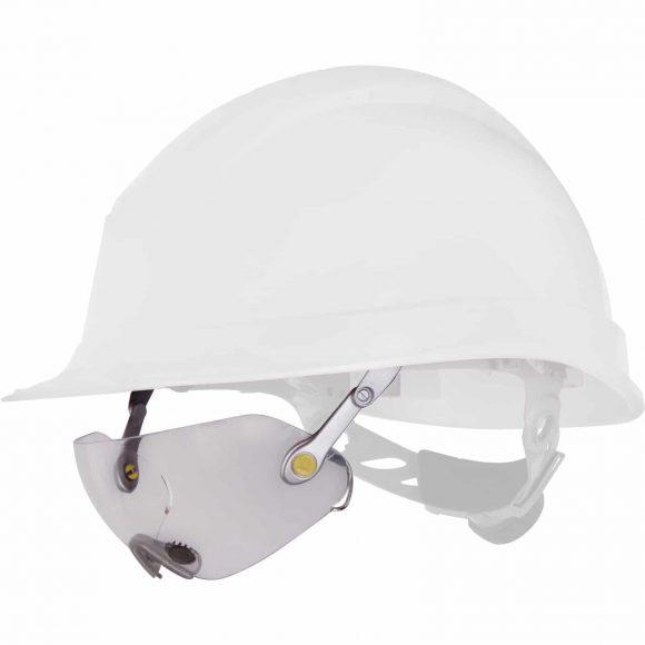 FUEGO 580x580 - Okulary ochronne FUEGO do hełmów budowlanych