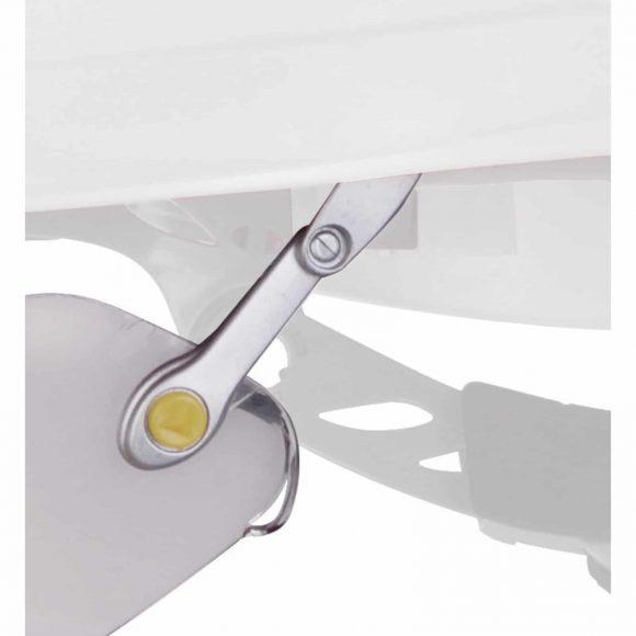 FUEGO adjustable arm 580x580 - Okulary ochronne FUEGO do hełmów budowlanych