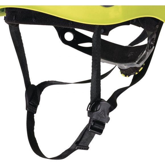 GRANITE WIND JA chin strap 580x580 - Hełm ochronny do prac wysokościowych w stylu górskim wentylowany GRANITE WIND