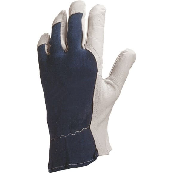 CT 402 RETUSZ - Rękawice skórzane licowe (skóra kozia) HAND FLEX DL 1135 (Rozm. 9/10/11)