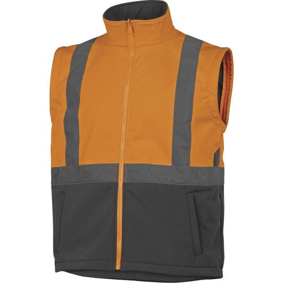 TARMAC OR without sleeves 580x580 - Kurtka ostrzegawcza całoroczna TARMAC 4 w 1 - OXFORD PU