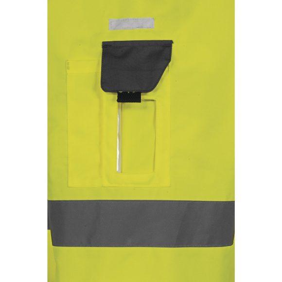 TARMAC pocket 580x580 - Kurtka ostrzegawcza całoroczna TARMAC 4 w 1 - OXFORD PU