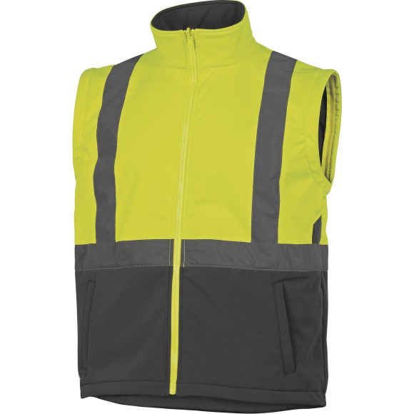 TARMAC without sleeves 580x580 - Kurtka ostrzegawcza całoroczna TARMAC 4 w 1 - OXFORD PU
