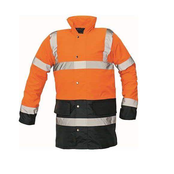 03010073 SEFTON jacket orange navy 0131 www 580x580 - Kurtka ostrzegawcza ocieplana SEFTON