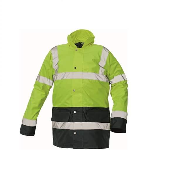 03010073 SEFTON jacket yellow navy 0112 www - Kurtka ostrzegawcza ocieplana SEFTON