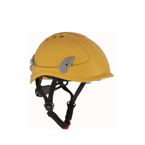 06010122 ALPINWORKER yellow CERVA 042017 8007 www 580x580 - Hełm ochronny do prac wysokościowych wentylowany ALPINWORKER z okularami ochronnymi