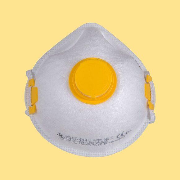fsx613vx1200xa 580x580 - Półmaska przeciwpyłowa z zaworem FS-613V FFP1 NR D