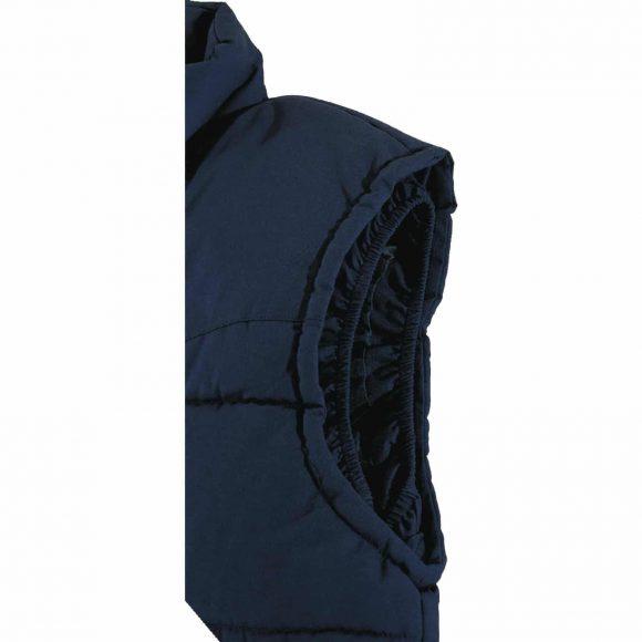 SIERRA BM arm hole 580x580 - Kamizelka robocza ocieplana z przedłużonym tyłem SIERRA - WYPRZEDAŻ