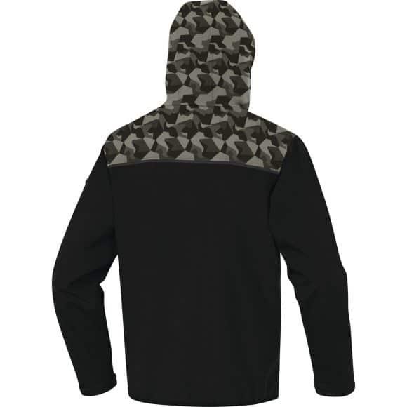 HORTEN2 NC hood back 580x580 - Bluza softshell HORTEN2 3 WARSTWOWA DELTA PLUS