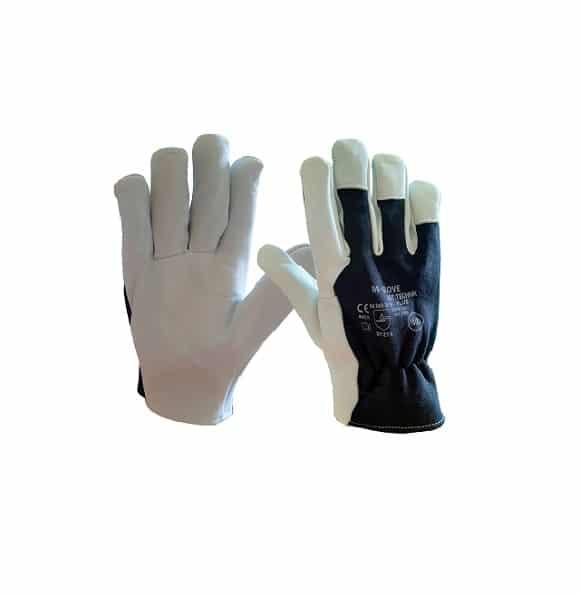 m glove technik plus 2121x - Rękawice skórzane licowe (skóra kozia) TECHNIK PLUS