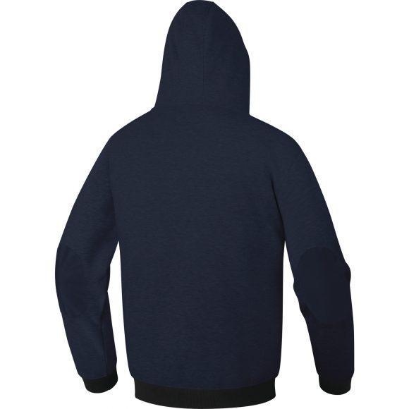 AREZZO BM back 580x580 - Bluza robocza z kapturem i wzmocnionymi łokciami AREZZO DELTA PLUS
