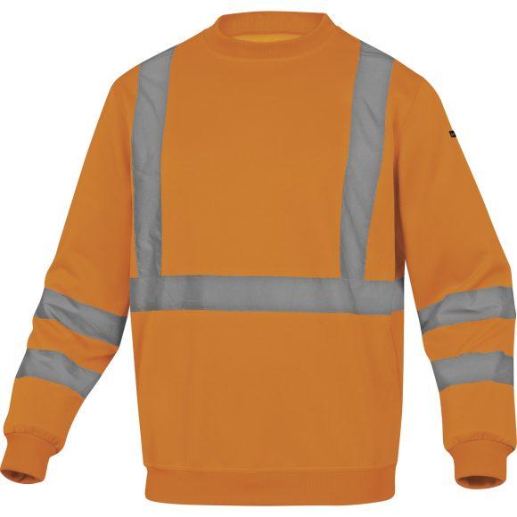 ASTRAL OR 580x580 - Bluza ostrzegawcza molton żółta pomarańczowa fluo ASTRAL DELTA PLUS